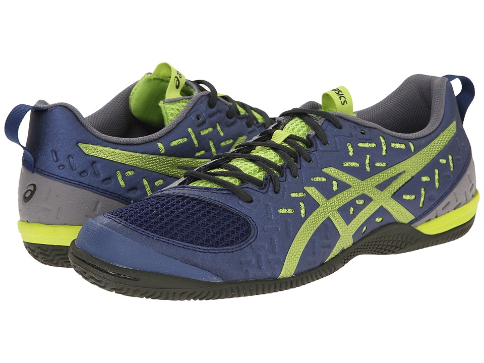 ASICS - GEL-Fortius 2 TR (Indigo Blue/Lime/Taupe) Men