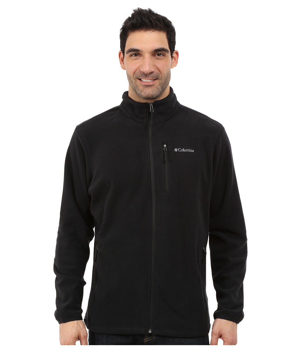 Columbia Cascades Explorer Full Zip Fleece (Black) Men