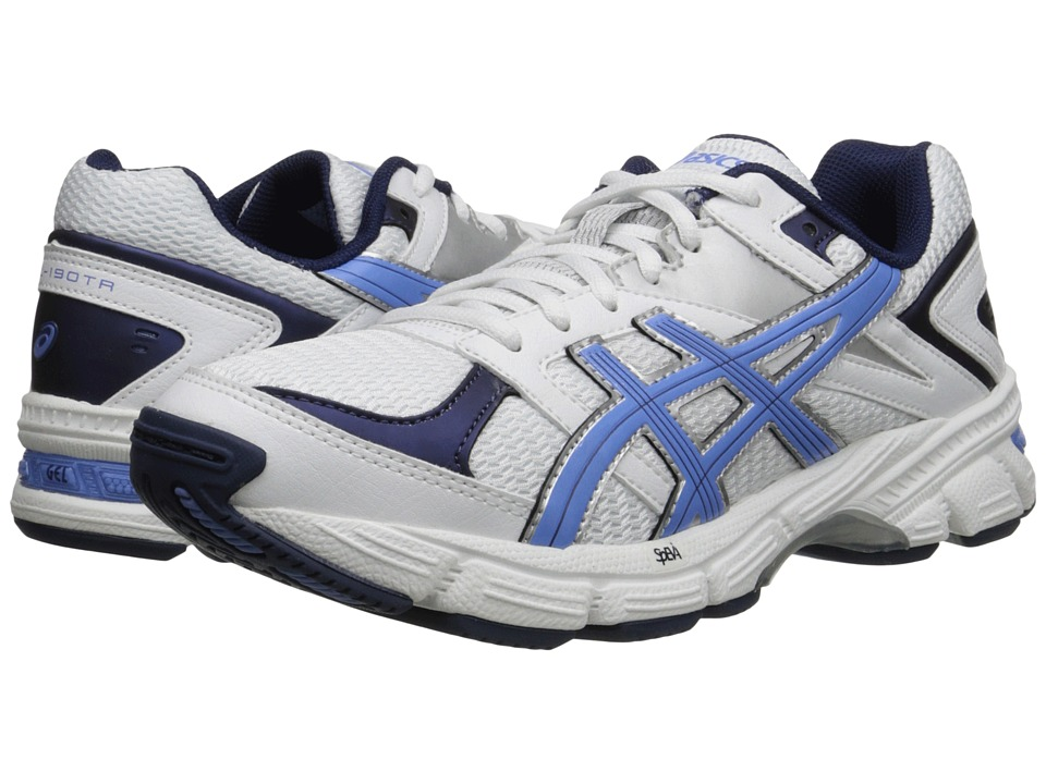 Image of ASICS - GEL-190 TR (White Periwinkle/Midnight Navy) Women's Cross Training Shoes