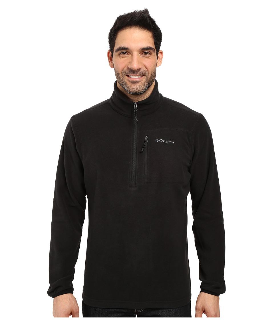 Columbia Cascades Explorertm 1/2 Zip Fleece (Black) Men