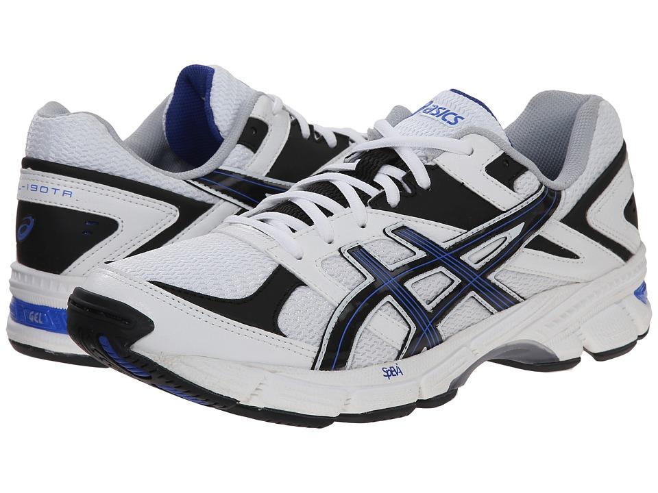 ASICS - GEL-190 TR (White/Navy/Royal) Mens Cross Training Shoes