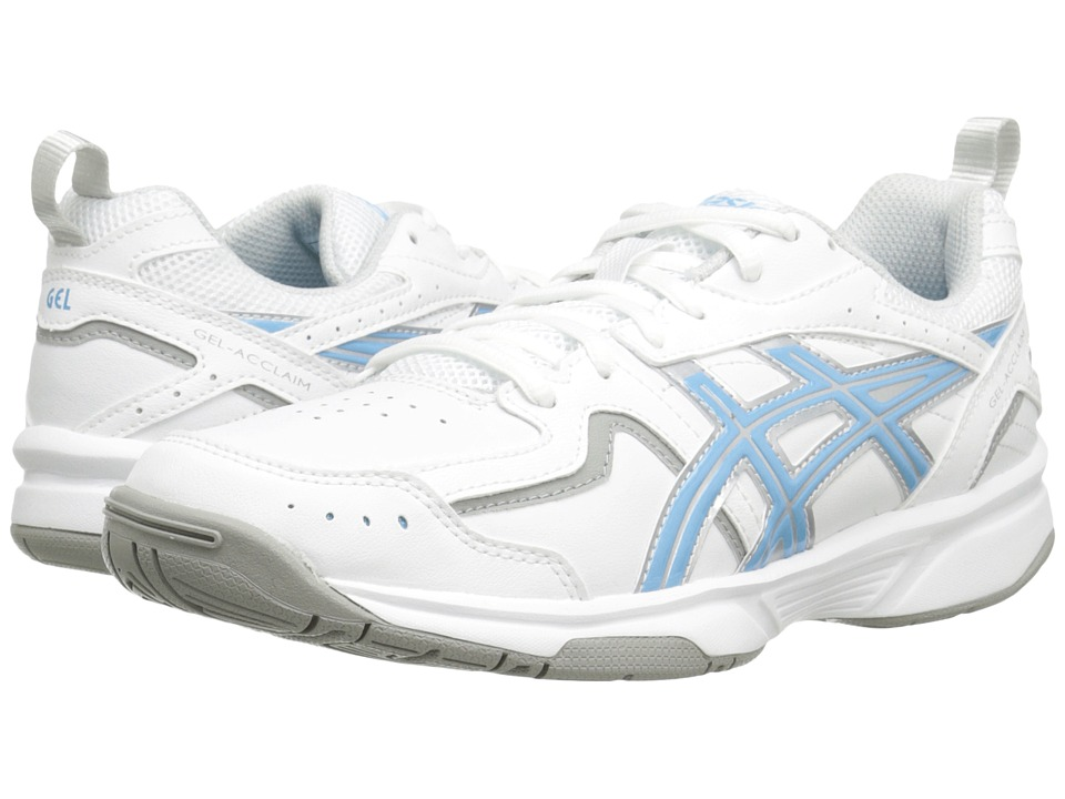 ASICS - GEL-Acclaim (White/Silver/Sky Blue) Women