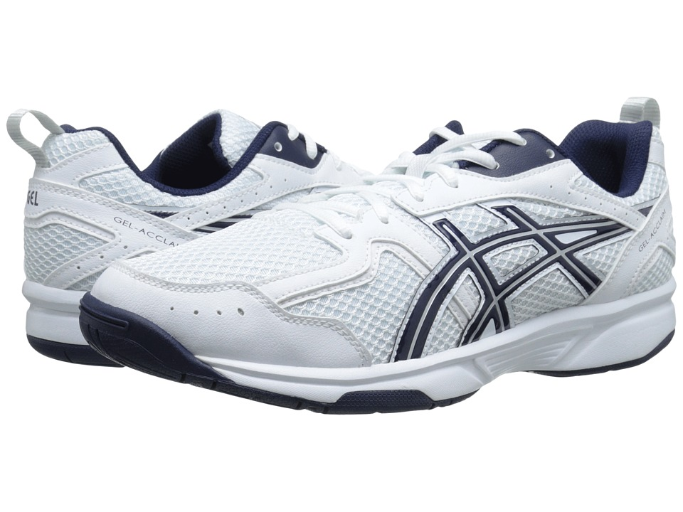 ASICS GEL-Acclaim (White/Navy/Snow) Men