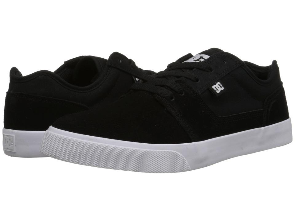 DC Tonik (Black/White/Black) Men's Skate Shoes