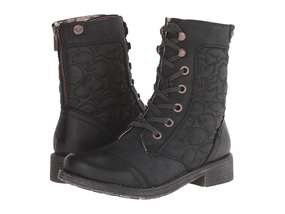 Roxy Westward Black Womens Lace up Boots