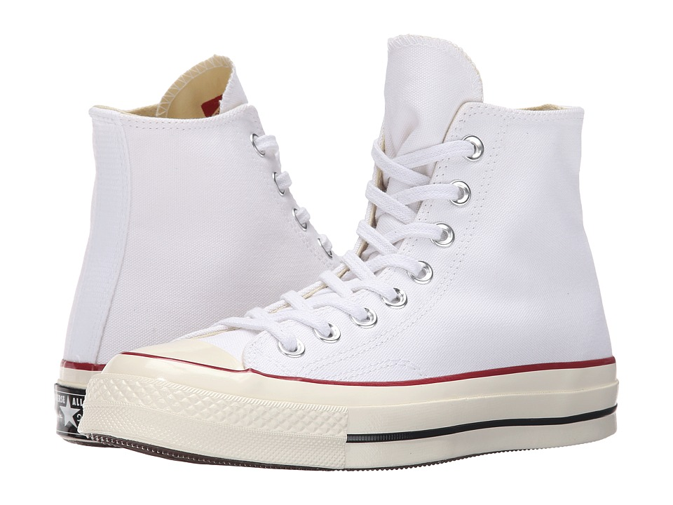 Converse Chuck Taylor All Star 70 Vintage Canvas Hi White/Egret/Black Lace up casual Shoes
