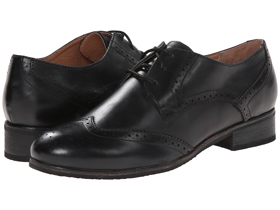 Miz Mooz - Brigitta Black Womens Dress Flat Shoes $119.95 AT vintagedancer.com