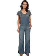 Free People - Washed Chambray D Ring Back Overall in Bee Wash