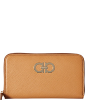 Salvatore Ferragamo - Gancini Zip Around Wallet