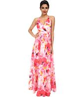 Aidan Mattox - Printed Floral Gown