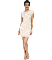 Aidan Mattox - Cap Sleeve Beaded Cocktail Dress
