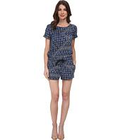 DKNY Jeans - Batik Print Romper in Mood Indigo