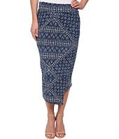 DKNY Jeans - Batik Print Wrap Maxi Skirt