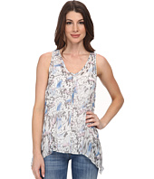 DKNY Jeans - Tonal Butterfly Printed Tank Top