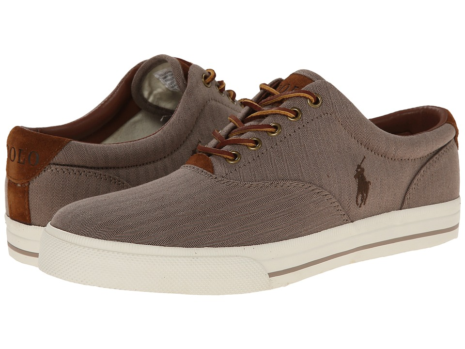 Polo Ralph Lauren Vaughn (Dark Khaki Chambray Herringbone/Sport Suede) Men