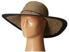 San Diego Hat Company UBL6472 Ultrabraid Sunbrim w/ Wooden Beaded Trim