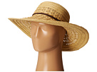 San Diego Hat Company - UBL6478 Ultrabraid Hombre Sunbrim w/ Leather Band