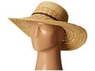 San Diego Hat Company UBL6478 Ultrabraid Hombre Sunbrim w/ Leather Band