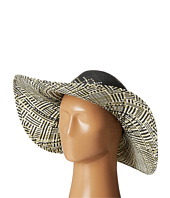 San Diego Hat Company - PBL3060 Ombre Woven Paper Floppy w/ Bead Trim