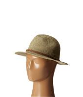 San Diego Hat Company - PBF6162 Woven Paper Fedora w/ Suede Braided Trim