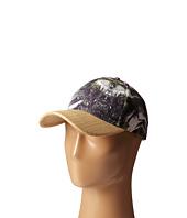 San Diego Hat Company - CTH4083 Palm Print Ball Cap w/ Raffia Bill