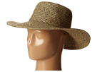 San Diego Hat Company PBL3046 Sunbrim Hat w/ Lurex and Gold Dome Stud Trim