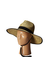 San Diego Hat Company - RSL5556 Rush Straw Lifeguard w/ Band and Chin Cord