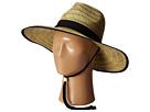 San Diego Hat Company RSL5556 Rush Straw Lifeguard w/ Band and Chin Cord