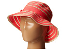 San Diego Hat Company Kids San Diego Hat Company Kids RBK3080 Kids Ribbon And Paper Straw Bucket Hat (Little Kids)