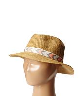 San Diego Hat Company Kids - UBK2010 Seagrass Fedora w/ Ribbon Trim