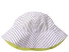 San Diego Hat Company Kids CTK3422 Reversible Seersucker Bucket w/ Chin Strap