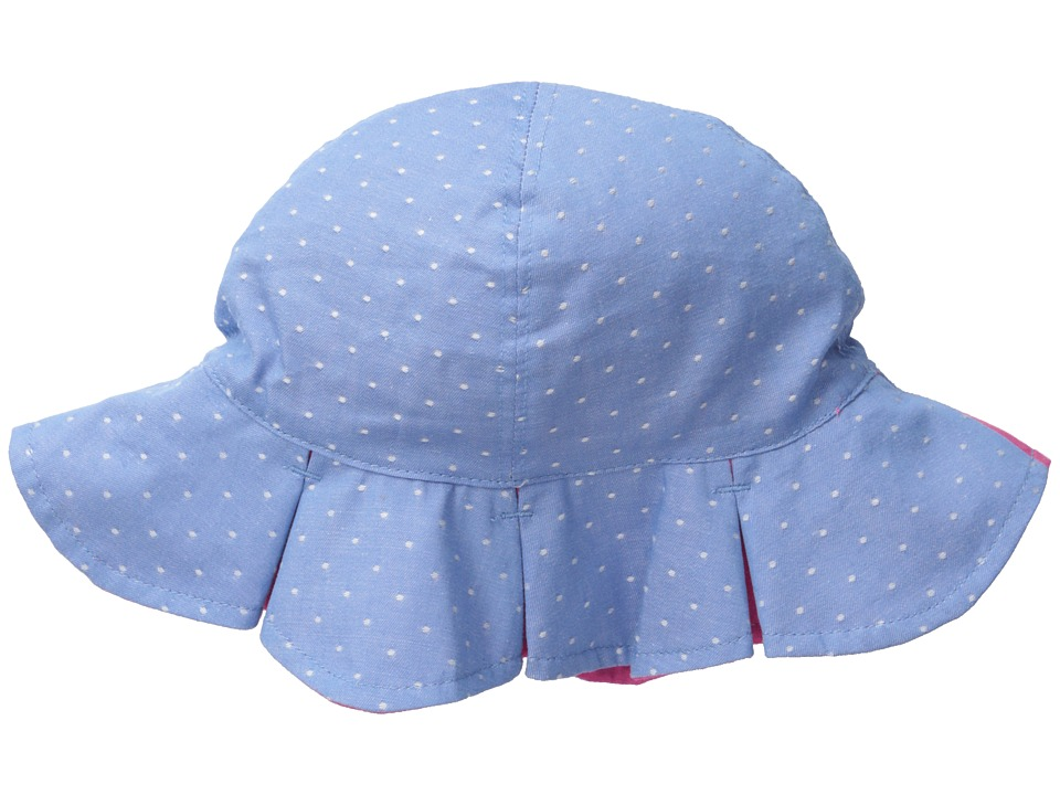 San Diego Hat Company Kids San Diego Hat Company Kids - CTK3462 Reversible Chambray Bucket w/ Chin Strap