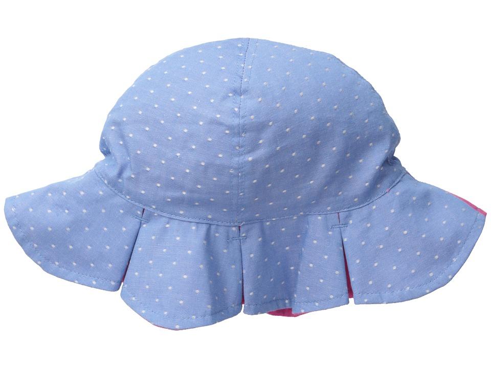 San Diego Hat Company Kids - CTK3462 Reversible Chambray Bucket w/ Chin Strap