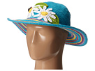 San Diego Hat Company Kids DL2494 Crochet Sunbrim with Lady Bug
