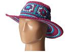 San Diego Hat Company Kids DL2488 Crochet Macramae Hat w/ Stripe Pattern
