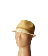 San Diego Hat Company - UBF1012 Fedora w/ Suede Band and Gold Beads