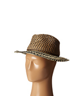 San Diego Hat Company - PBF6176 Woven Paper Tribal Fedora w/ Rope Trim