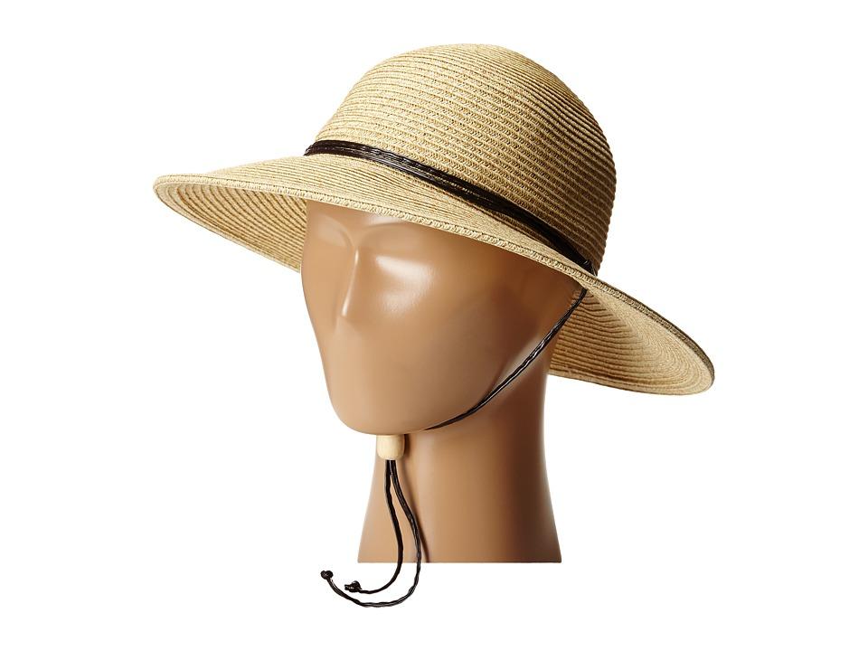 San Diego Hat Company Kids - PBG1KID Solid Sunbrim w/ Chin Cord And Stretchband