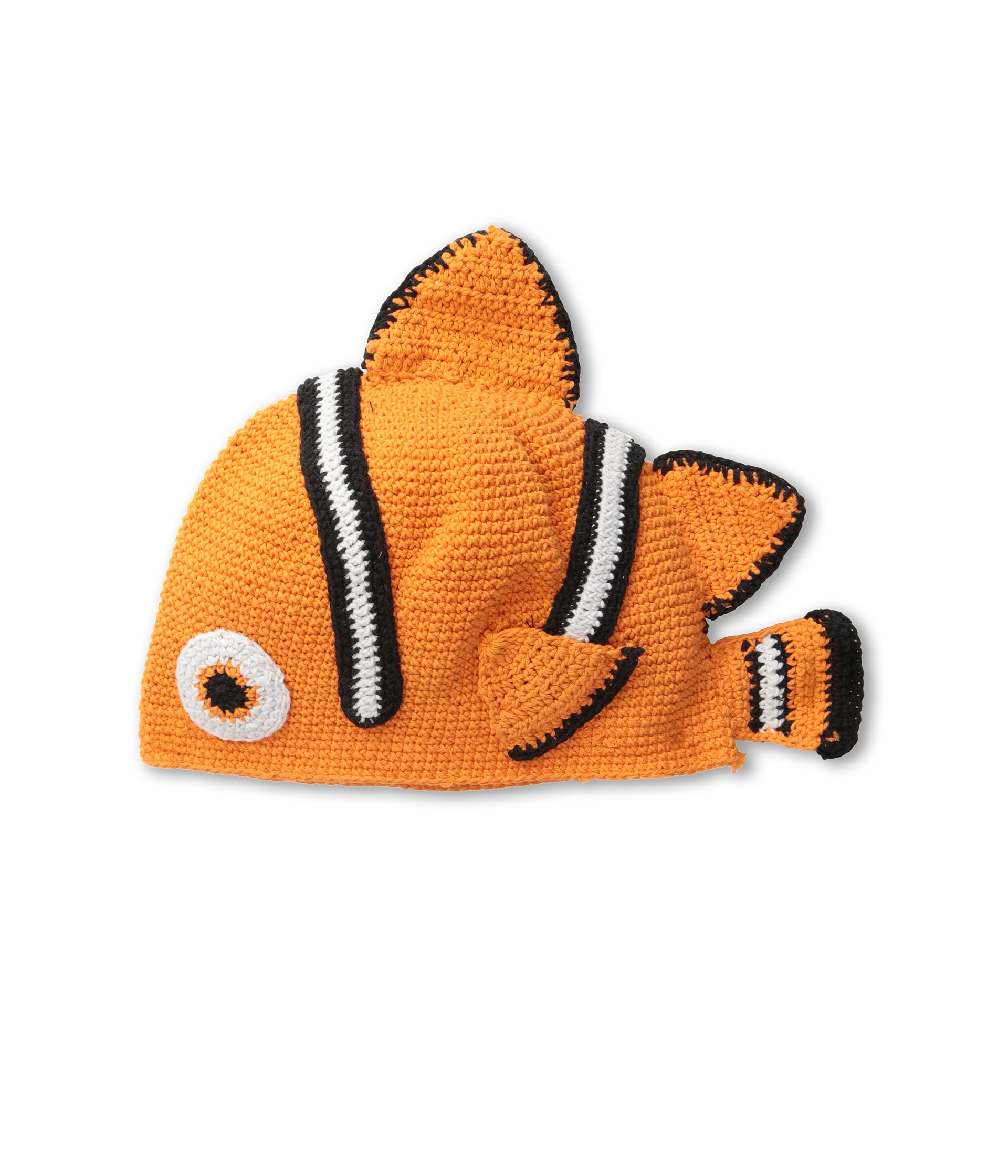 San diego hat company kids dl2498 crochet clown fish for Youth fishing hats