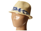 San Diego Hat Company Kids - PBK3208 Fedora w/ Palm Tree Band