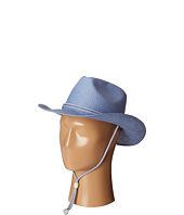 San Diego Hat Company Kids - STCLKID Woven Paper Cowboy w/ Chin Cord And Stretchband