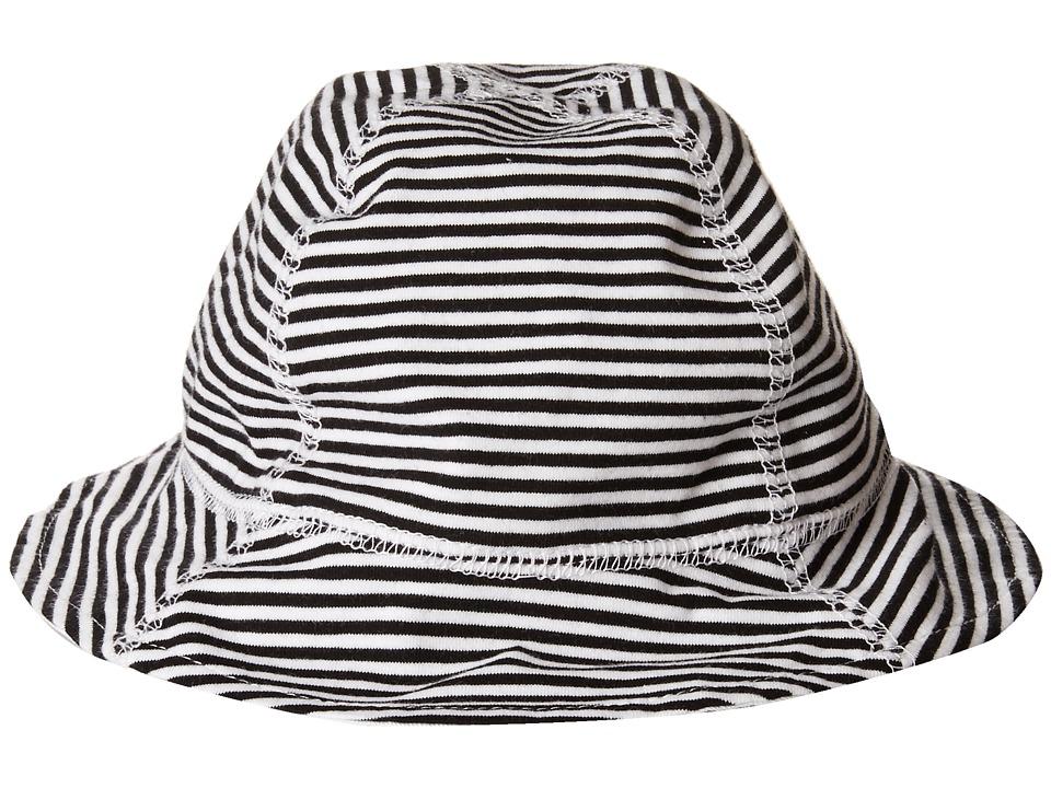 San Diego Hat Company Kids - CTK3402 Kids Striped Sun Hat (Black/White) Caps