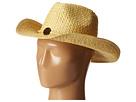 San Diego Hat Company PBC2441 Woven Paper Cowboy w/ Coconut Trim Detail