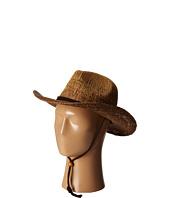 San Diego Hat Company - PBC1016 Ombre Woven Paper Cowboy w/ Chin Cord