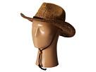 San Diego Hat Company PBC1016 Ombre Woven Paper Cowboy w/ Chin Cord