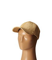 San Diego Hat Company - CTH4087 Woven Raffia Ball Cap w/ Leather Back