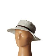 San Diego Hat Company - EBH9896 Slub Linen Floppy Sunbrim w/ Suede Band