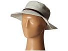 San Diego Hat Company EBH9896 Slub Linen Floppy Sunbrim w/ Suede Band
