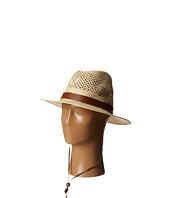 San Diego Hat Company - PBF7002 Woven Paper Straw Panama Fedora w/ Chin Cord