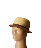 San Diego Hat Company - SDH2017 Paper Fedora w/ Contrast Colored Brim